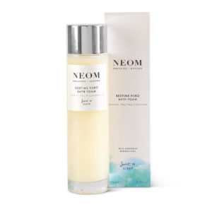 Bedtime Hero Bath Foam from Neom Organics, wellbeing and skincare from Beautiful Brands