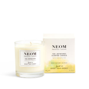 Feel Refreshed Scented Candle from Neom Organics, home fragrance from Beautiful Brands