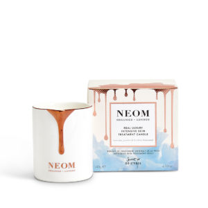 Real Luxury Intensive Skin Treatment Candle from Neom Organics and Beautiful Brands