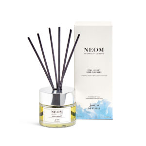 Real Luxury Reed Diffuser from Neom Organics, home fragrance from Beautiful Brands