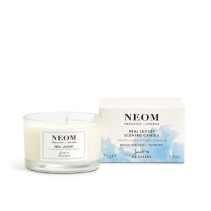Real Luxury Scented Candle from Neom Organics, home fragrance from Beautiful Brands