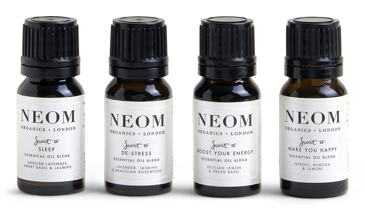Wellbeing Essential Oil Blends x 4