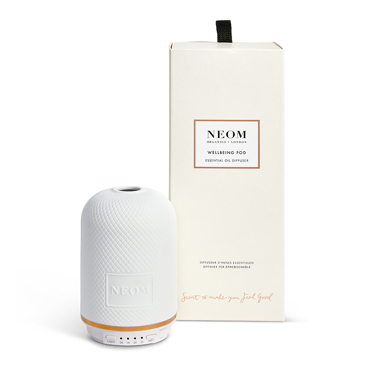 Wellbeing Essential Oil Diffuser Neom Organics, home fragrance from Beautiful Brands